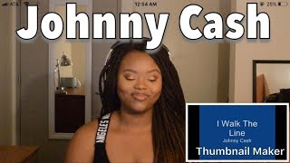 Reacting To Johnny Cash I Walk The Line