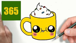 Comment Dessiner Cupcake Kawaii étape Par étape Dessins