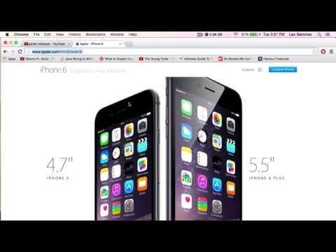 Nuevo iPhone 6, iPhone 6 Plus, Apple Pay y Apple Watch