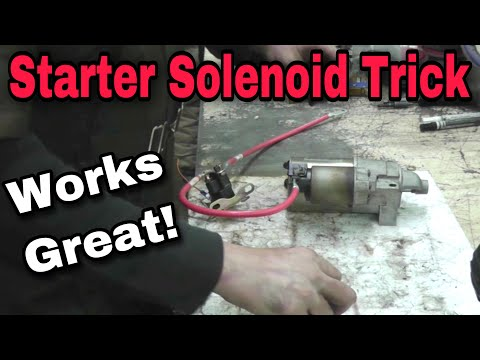 How-To Fix A Starter Solenoid - With Taryl - Kohler, Briggs, Kawasaki, Honda