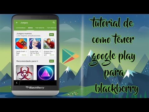 como instalar google play store en blackberry z10 Q5, Q10, Z10, Z3, Z3, Passport, Classic.