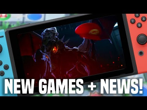 E3 2018 Nintendo - DAY ONE NEW SWITCH GAMES, WE PLAYED EM! NEW SWITCH NEWS!