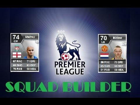 140K BPL SILVER SQUAD BUILDER | FIFA 13 GAMEPLAY AND COMMENTARY