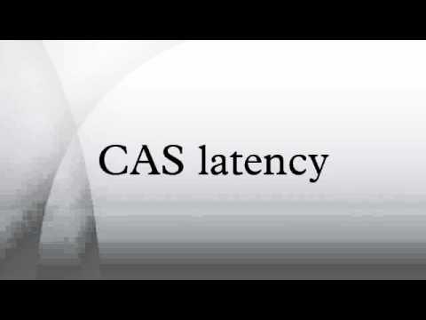 CAS latency
