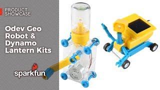 Product Showcase: Odev Geo Robot & Dynamo Lantern Kits