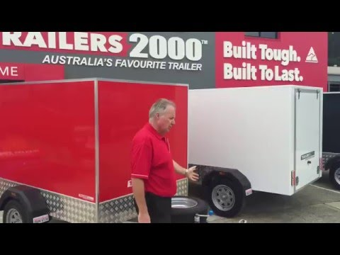 Luggage Trailers by Trailers 2000