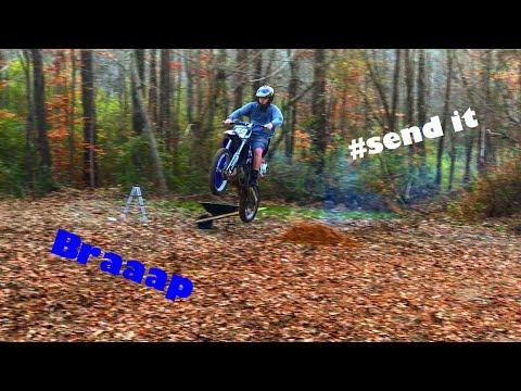 Insanely Huge Dirt Bike Jump