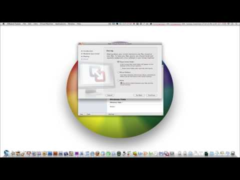 How To Install Windows 7, Vista or XP on Your Mac - VMWare