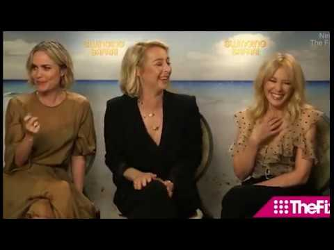 Kylie talks partner swapping as she promotes Swinging Safari
