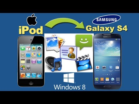 iPod to Galaxy S4 [Music Transfer]: Transfer All Files Music from iPod to Samsung Galaxy S4