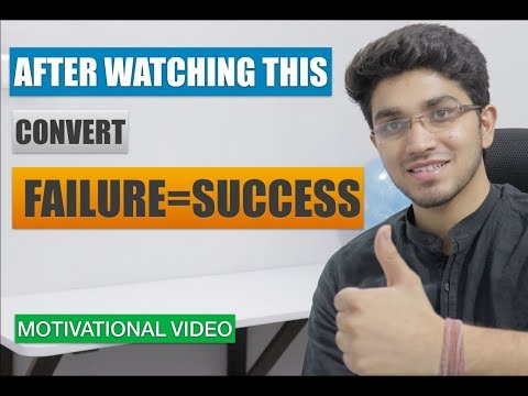 How to overcome Failure   Turn your failure into success   How to find your passion