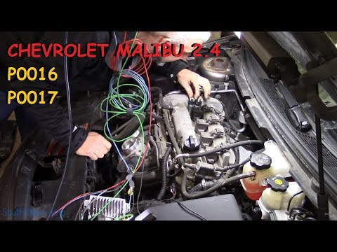 P0016 P0017 Chevy 2 4 How to fix