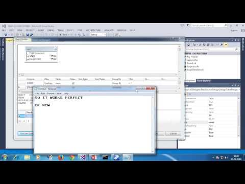 LOGIN SYSTEM USING VB.NET AND MS ACCESS BY VINZY