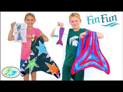 Fin Fun Mermaid Custom Tail Creator! The New DIY Mermaid Tail is AMAZING