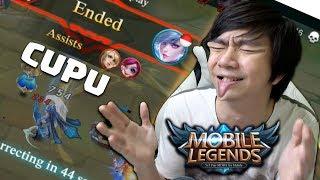 Orang Cupu Main Mobile Legends Indonesia