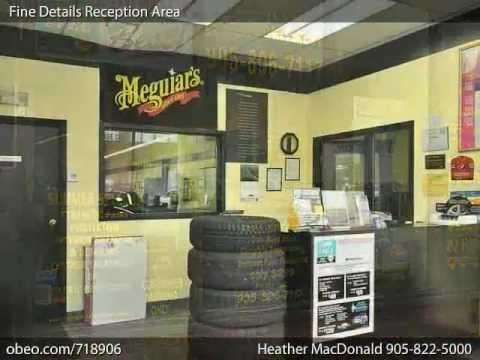 Heather MacDonald Real Estate - Business For Sale - Fine Details Mississauga