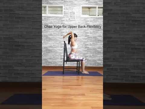 Chair Yoga for Upper Back Flexibility