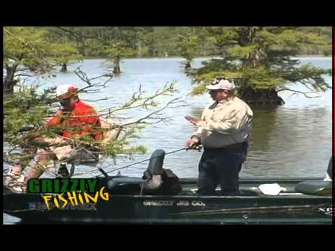 Grizzly Jig Crappie Fishing-How to Fish Reelfoot Lake Cypress