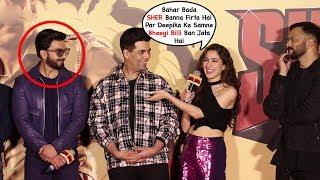 Sara Ali Khan Makes FUN Of Ranveer Singh Marriage At Simmba Trailer Launch