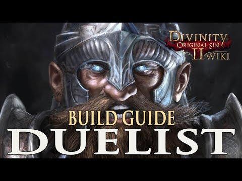 Divinity Original Sin 2 Builds - Duelist (Rogue)