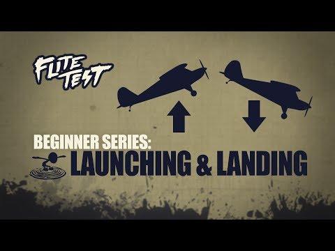 Flite Test: RC Planes for Beginners: Launching & Landing - Beginner Series - Ep. 4