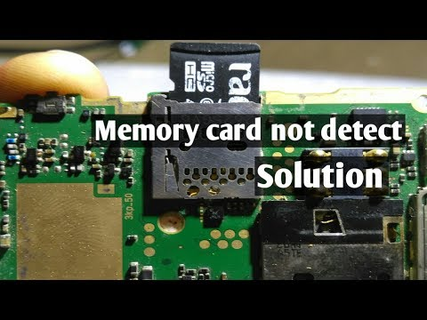 How to fix Memory Card not detect in mobile phone PCB ? Explain in hindi