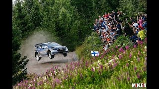 WRC Rally Finland 2017 SHOW AND CRASH  MAX ATTACK