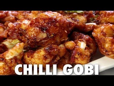 How To Make Chilli Gobhi at Home | Homemade Chilli Gobhi Recipe | Quick & Easy Gobhi Recipe