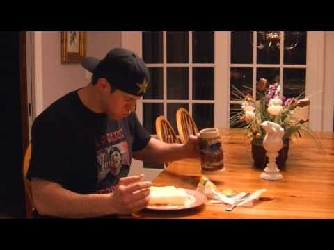 EATING A POUND OF BUTTER on Tosh.0