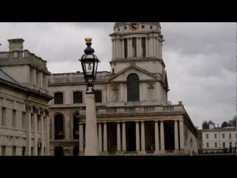 Greenwich, O2 arena, Canary Wharf, Thames, Naval College, old London Bus
