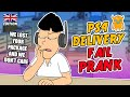Asian Ps4 Delivery Fail Prank uk Ownage Pranks