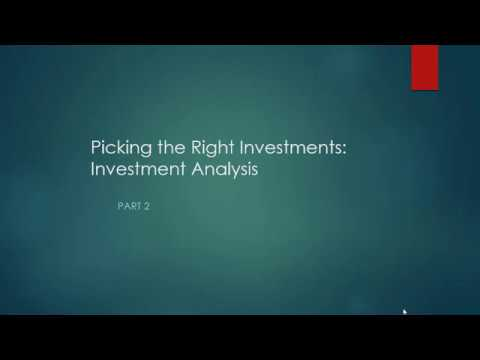 How to Pick the Right Investments 2: Investment Analysis/CAPM Limitations/Risk Premium/Risk Aversion