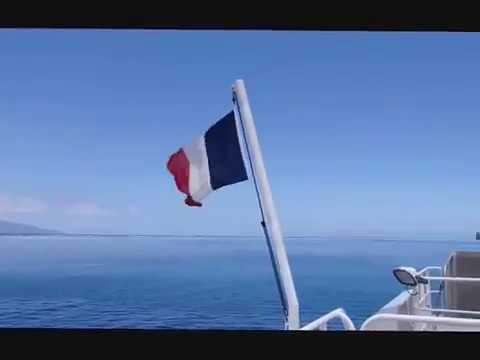 navigation from Papeete to Moorea on the ferry  - roundtheworld 1, 505