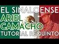 El Sinaloense - Ariel Camacho - Tutorial - REQUINTO - Como tocar en Guitarra