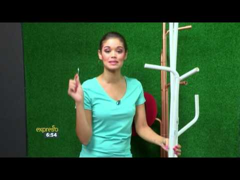 DIY with Zoe Brown: PVC Pipe Coat Stand - Builders