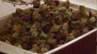 How To Make Awesome Sausage Apple And Cranberry Stuffing