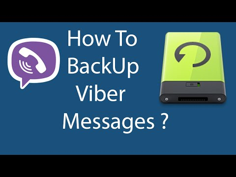 How To Backup Viber Messages On Your Android Phone ?
