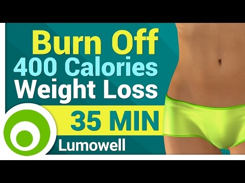 400 Calorie Workout for Weight Loss - No Equipment 35 Min
