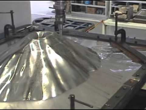 Dieless NC Forming of a Mount Fuji Replica