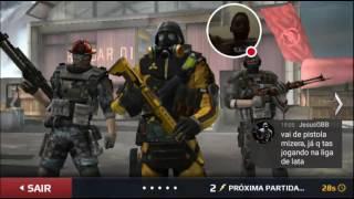 A minha transmissão de Modern Combat 5