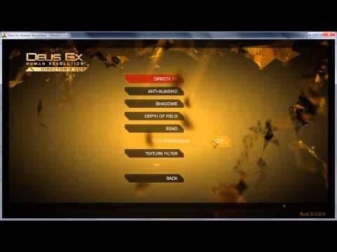 Deus Ex: Human Revolution || Game Options