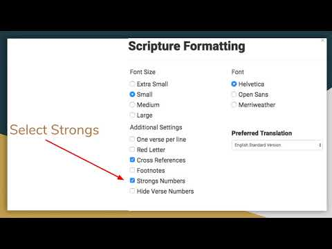 Looking up Greek Words Using Bible Study Tools