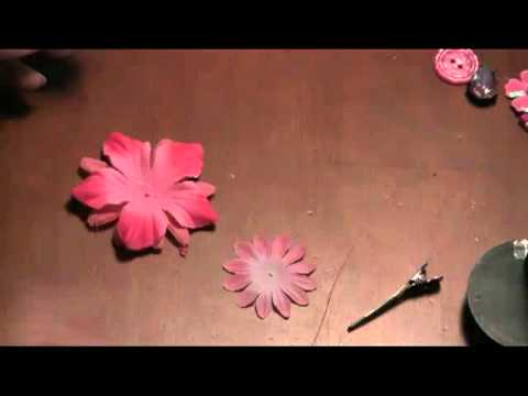 How to Make a Hair Bow: Baby Flower Bow with Headband