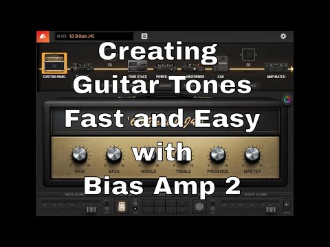 Steve Stine's Gear Part 1 - Home Recording: Using the Bias Amp 2 to Create Guitar Tones