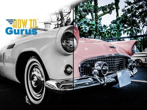 How to Color a Black and White Photo in Adobe Photoshop Elements 2018 15 14 13 12 11 Tutorial