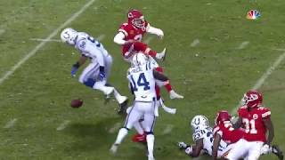 Colts Block Punt & Recover For TD   Colts vs. Chiefs   NFL