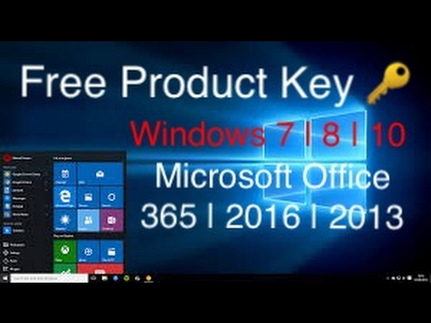 How To Get Free Product Key For Windows & Microsoft Office All Versions For Activation
