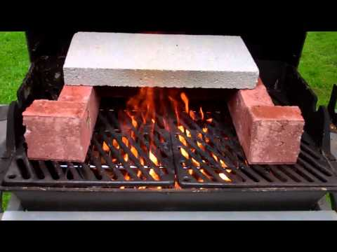 Turn your old bbq into a wood fired oven