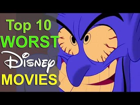 Top 10 Worst Disney Movies