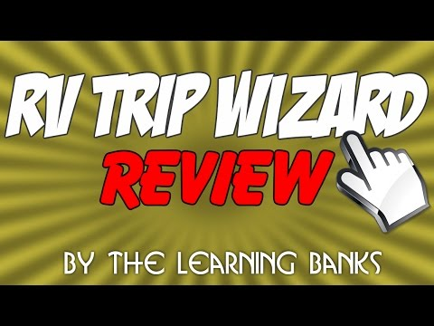 RV Trip Wizard Review - Best RV Trip Planner App to Create Google Maps RV Routes